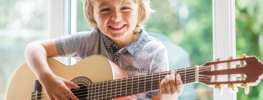 Their First Guitar: Buying Tips for Kids' Guitars