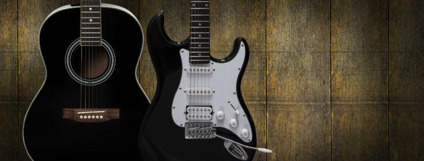 Acoustic Guitar vs. Electric