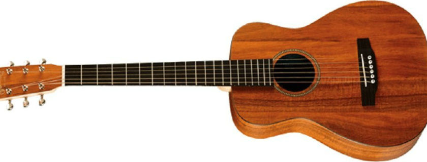 Martin LXK2 Little Martin Koa Pattern HPL Top with Padded Gigbag Review